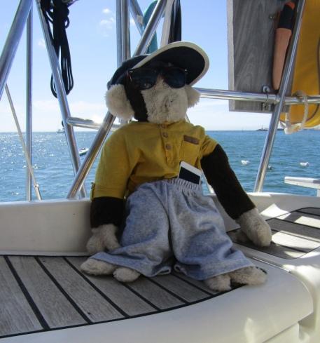 Mascotte de Sea You! Merci Arlette