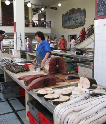 Rayon poissonnerie à Funchal